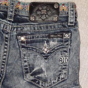 MISS ME Denim Shorts - Juniors Size 12
